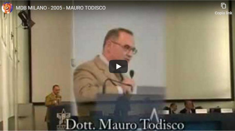 Metodi Di Bella. MIlano 2005. Relatore Dott. Mauro Todisco